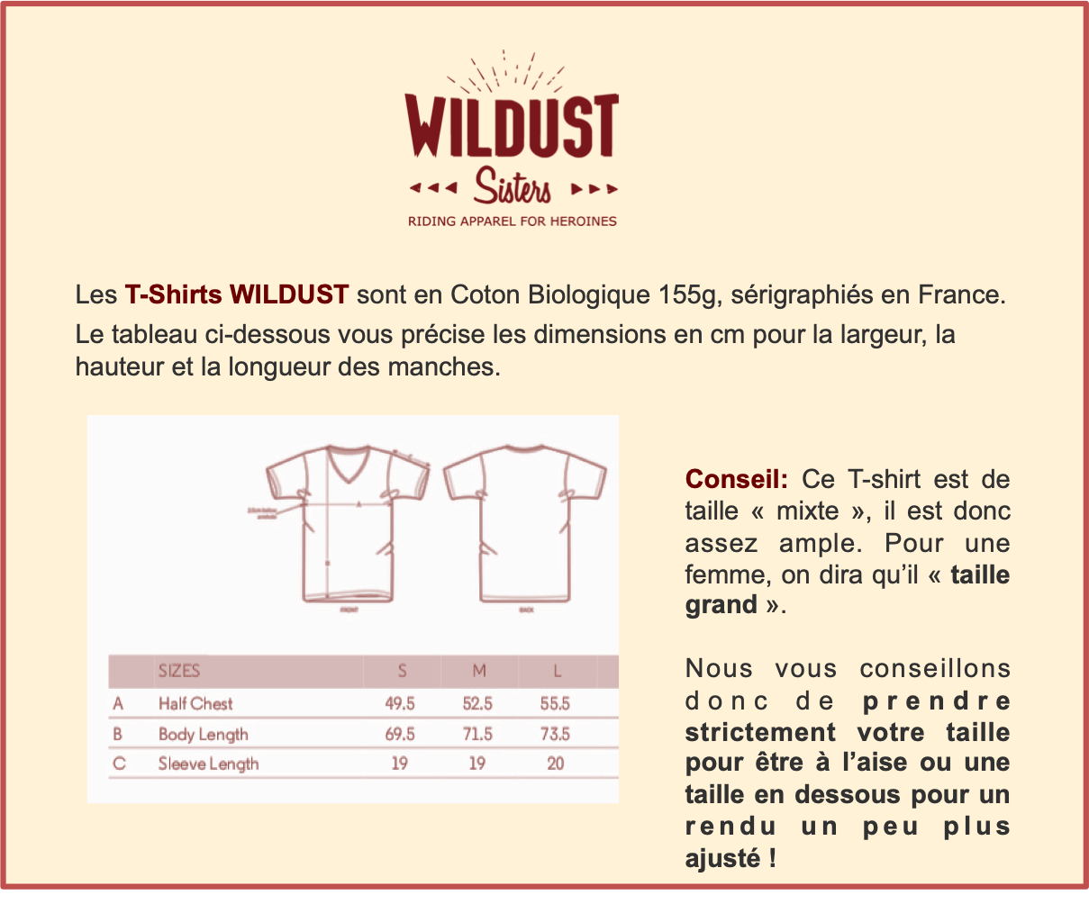 Guide Tailles T-Shirts