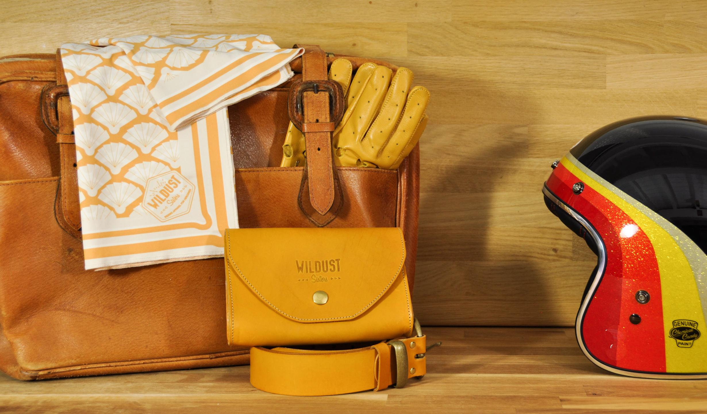 foulard moto jaune yellowstone wildust