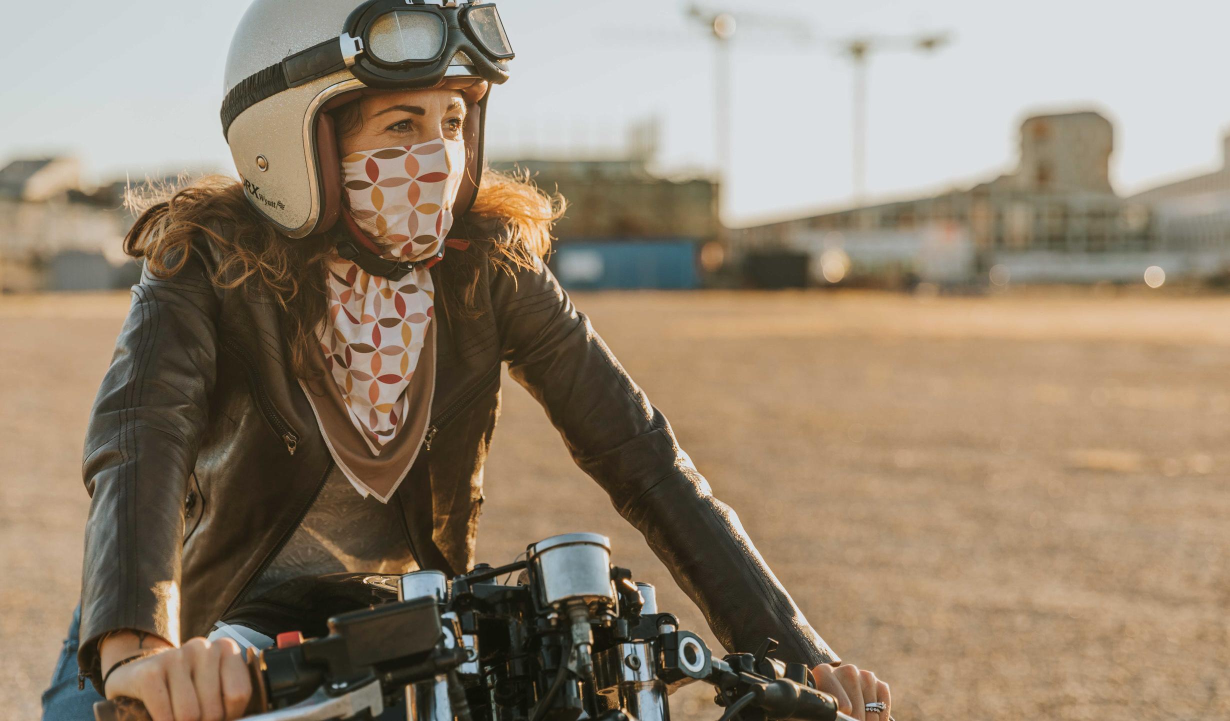 foulard chestnut moto femme wildust