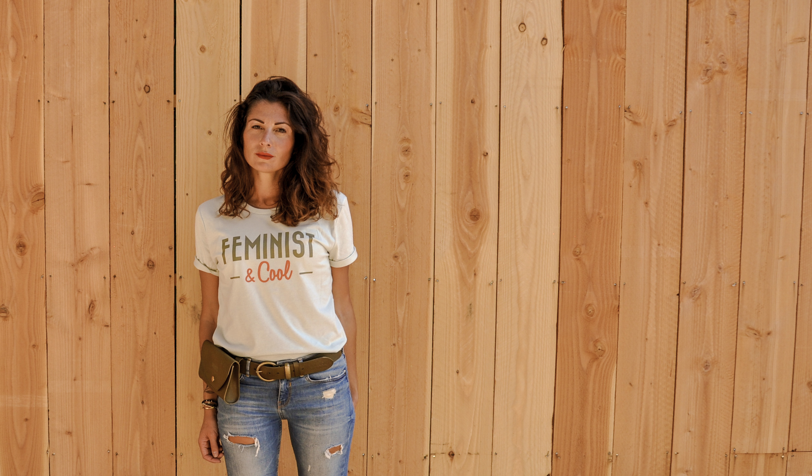 t shirt feministe et cool wildust