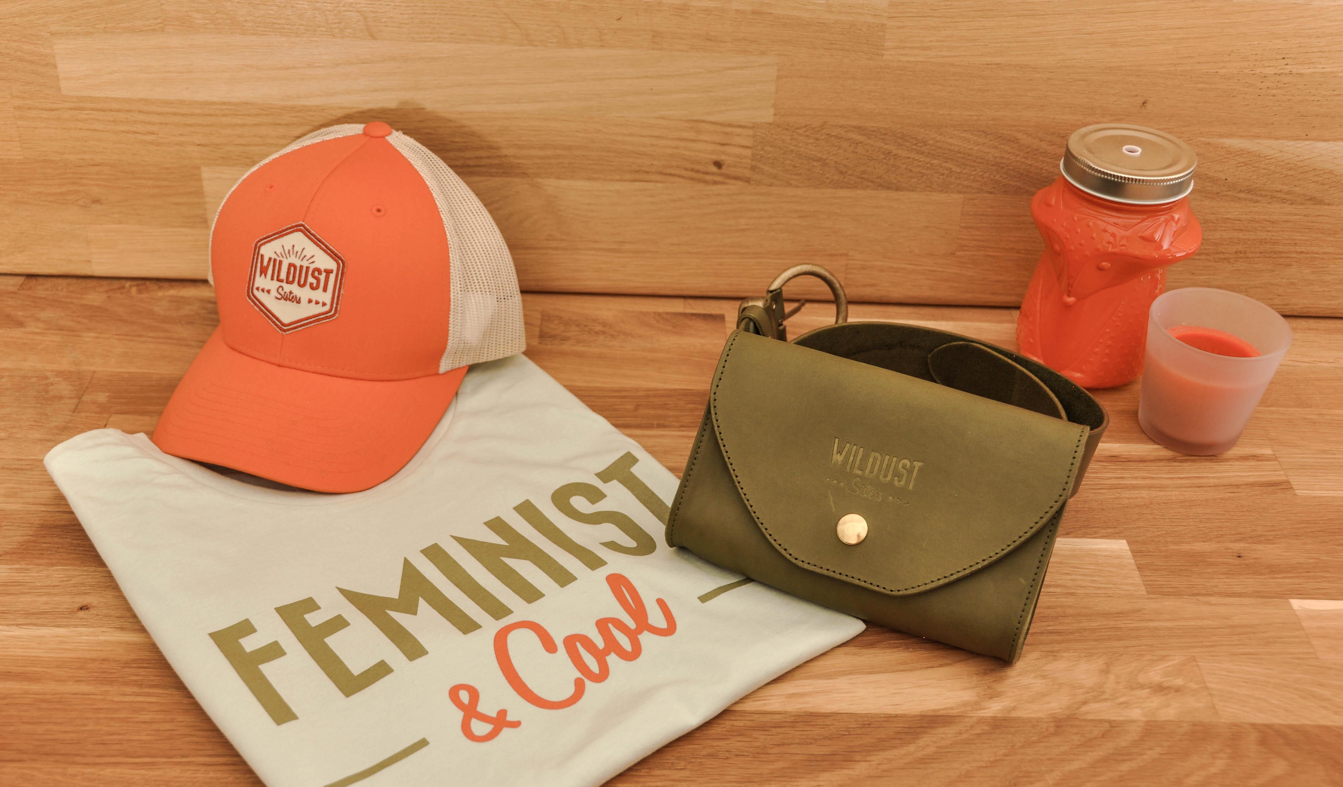 t shirt blanc féministe &cool