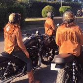 The Wild Girls Club is reunited ! Riding again and having some good times on their road trip ! Let's have fun girls ! . . #reminiscence #wildgirlsclub #acesexperience #womanrider #girlgan #bikergirls #motogirl #womenwhoride