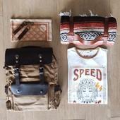 #RIDINGOUTFIT #ADVENTUREPACK   - Sac à Dos Cuir et toile enduite - Foulard Moto + Porte gants cuir - T-shirt Coton Bio Speed Goddess - Couverture Mexicaine Moto . . L'ensemble est à retrouver sur l'eshop Wildust.com !