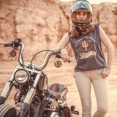 Et toi, quelles routes magiques t'enmeneront éprouver la liberté retrouvée ? Road trip moto, van, velo... Raconte nous en commentaire! . . And you, where will the holy roads take you ? Leave a comment ! . . . Psst... This shirt is ready to be GIVEN AWAY in our previous post, don't miss it ! . . Pic by @gregbronard  with @elie_mbs  - Shirt by @wildust_sisters  - Bike by @choppersandbrothers  - Helmet by @markohelmets