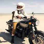 THE GREAT ADVENTURER OUTFIT  Grab you backpack, get on your bike, and ride your life ! Inspiring girls are everywhere! Thank you @sophiemolesti and @davidandrewoj. . . #bikergirl #motogirl #adventuregirl #heroine #adventure #roadtrip #wanderlust #wildrider #womanrider #bikegirl #womanwhoride