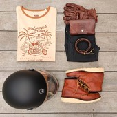 RIDING OUTFIT...Black and Camel essentials, to ride with style ! And you, do you care about matching accessories with your outfit? . . #mixandmatch #ridingoutfit #ootd #ridepack #womanrider #ridelikegirl #besties #motorcyclegear #motobrand #camelstyle #motogirl #bikergirl #womanrider